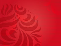 Red-background_ Imagem de Stock