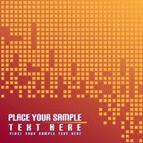 Red background. And place for your text Royalty Free Stock Photo
