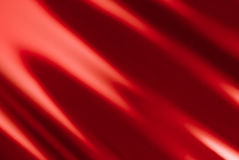 Red background. Stagy drape in crimson color for backgrounds Stock Image