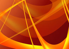 Orange and red background. A vector illustration of an orange and red abstract background Stock Photography