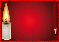 Red background. Royalty Free Stock Image
