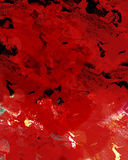 Red background. Abstract art Royalty Free Stock Images
