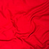 Red background abstract cloth or liquid wave illustration Royalty Free Stock Images