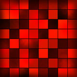 Red background abstract design Royalty Free Stock Images