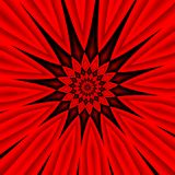 A red background. A red abstract radial background Royalty Free Stock Image