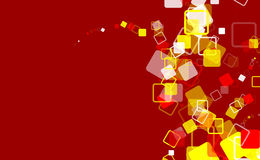 Red background artistic design Stock Image