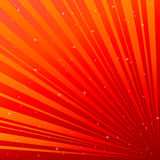 Red background with asterisk royalty free illustration
