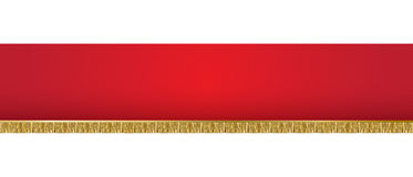 Red background banner Stock Photography