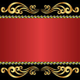 Red background Stock Image