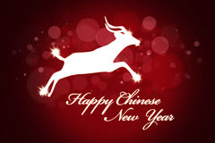 Red Background for Chinese New Year Royalty Free Stock Photography