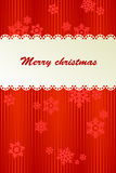 Red background for Christmas. Red background for new year and for Christmas Stock Images