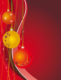 Red background for a Christmas design Stock Photography