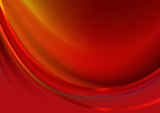 Red background covered wave  red stripes. Abstract red background with convex the concave wave covered satin red stripes Stock Image