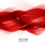 Red background curve. Stock Photo