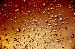 Red    background with drop water Stock Image