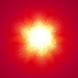 Red Background with Explode Stock Images