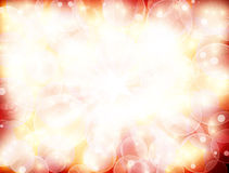 Red  background with glitter Royalty Free Stock Images