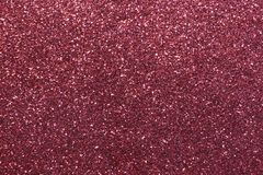 Red background with glitter very shimmering Stock Image