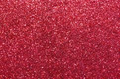 Red background with glitter very shimmering Royalty Free Stock Photos