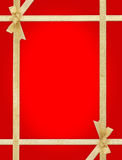Red background for a greeting card Royalty Free Stock Photography