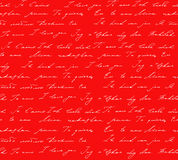 Red background with I love you inscription Royalty Free Stock Photo