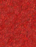 Red background with little stones texture Royalty Free Stock Image