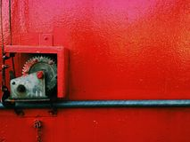 Red background. Red lock background stock photo