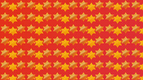 Red Background Magen David Royalty Free Stock Image