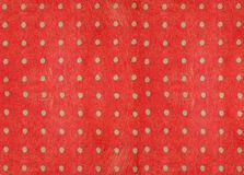Red background paper. Gray spotted and  red background  paper with Scratch Royalty Free Stock Photo