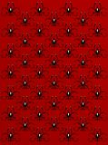 Red background with pattern. Abstract red background with pattern. Floral design Stock Photos