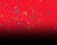 Red Background for Photo editing stock illustration