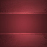 Red background with red ribbon stripe center Stock Images