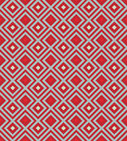 Red background with rhombus Royalty Free Stock Image