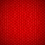 Red background of seamless pattern with snowflakes. Red festive background of seamless pattern with stylized snowflakes, and vignette Royalty Free Stock Photos