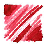 Red background with slanting thick strokes Stock Photos