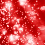 Red background. Soft red background with some blurred lights on it Royalty Free Stock Photos