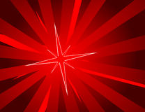 Red background with star Stock Images