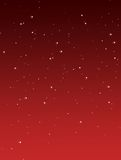 Red background with stars Royalty Free Stock Photos