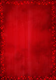 Red background with stars Stock Photography