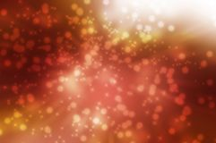Red background. With stars and circle Royalty Free Stock Image