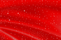 Red Background With Stars Royalty Free Stock Photo