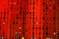 Red background-texture Stock Photo