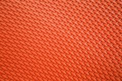 Red background texture of basketwork. Royalty Free Stock Images