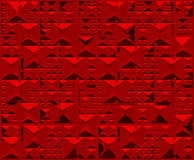 Red background triangle Stock Photography
