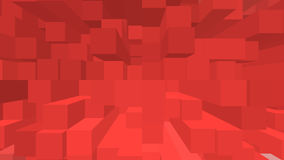 Red background. For valentine day Royalty Free Illustration