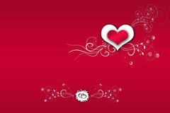 Red background valentine's day Stock Photos