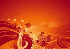 Red background, vector Stock Images