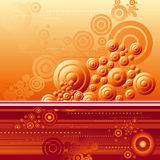 Red background, vector Stock Photo