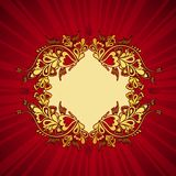 Red background, vector Royalty Free Stock Photography