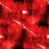 Red background watercolor art seamless texture Stock Photography